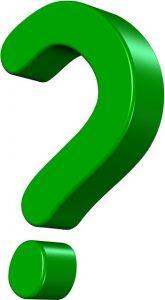 Green Question Mark