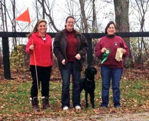 Judd earned Tracking Dog title
