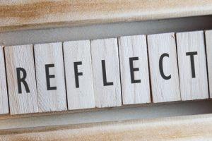 REFLECT sign