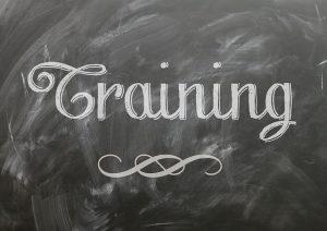 Training - Chalkboard