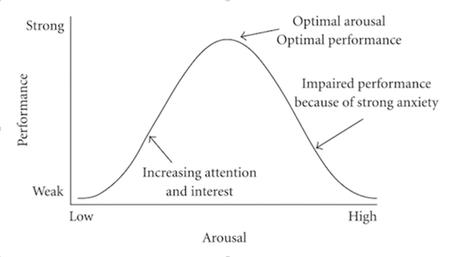 Yerkes-Dodson Law Curve